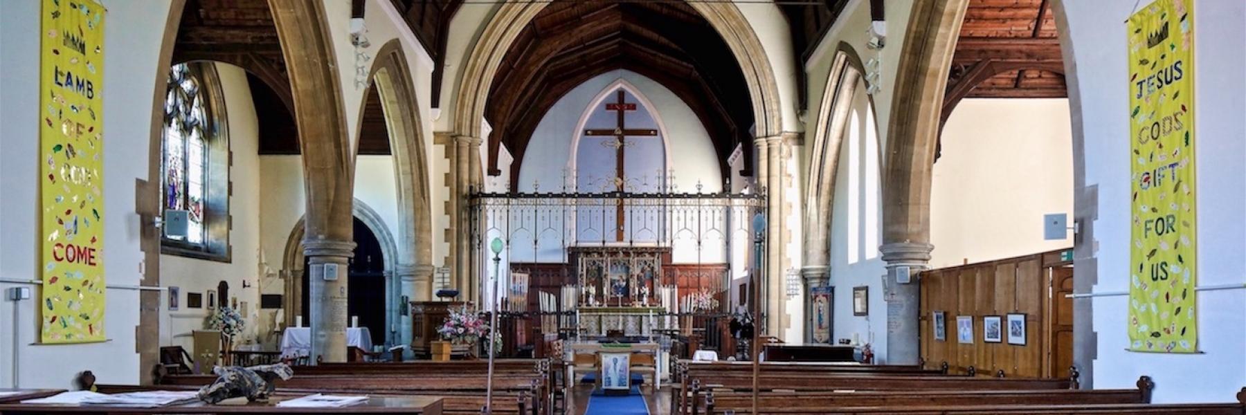 St Andrew church Mottingham