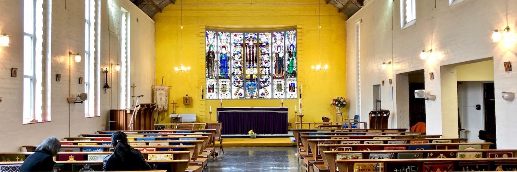 St Alban church Mottingham